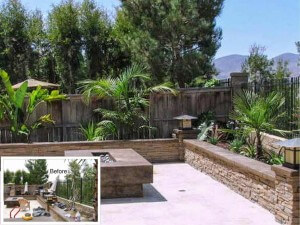 San Clemente Patio Landscaping