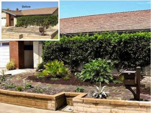 Mission Viejo Front Yard Makeover