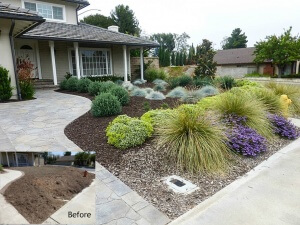 Mission Viejo front yard renovation